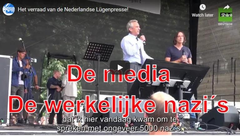 Het verraad van de Lügenpresse van Nederland