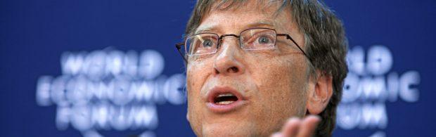 Oeps, corona-expert verspreekt zich: Niet overheid, maar Bill Gates deelt de lakens uit