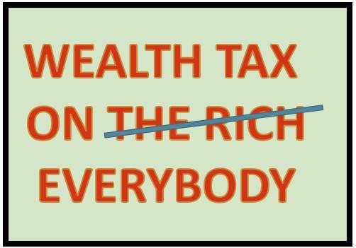 Vermogensbelasting – een waarschuwing voor (alle) belastingbetalers