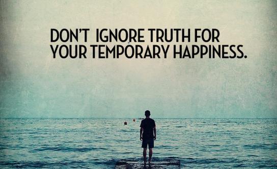 Mensen willen de waarheid vaak niet weten