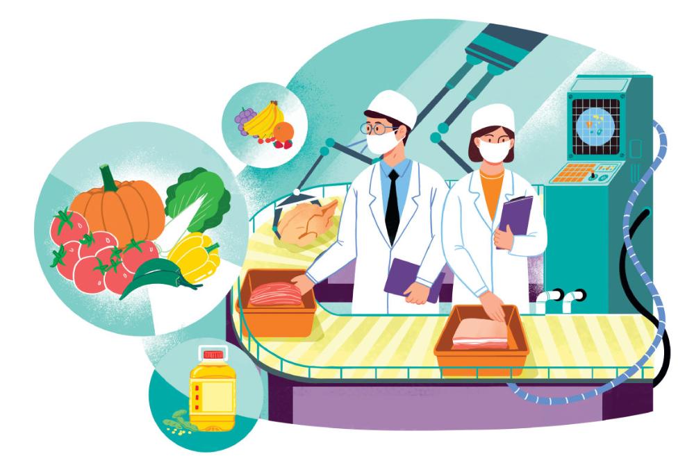 Er woedt niet alleen een oorlog tegen zuurstof, maar ook tegen voedsel