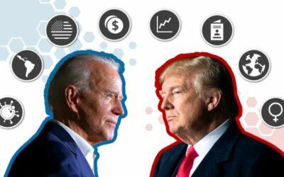 De Amerikaanse verkiezingen, wie gaat er winnen: Donald Trump of Joe Biden? / Verkiezingsupdate Amerikaanse verkiezingen: Trump of Biden? / Donald Trump is de laatste president van de Verenigde Staten: voorspelde burgeroorlog aanstaande