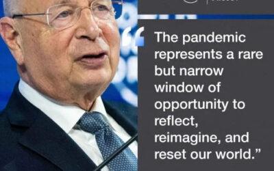 Klaus Schwab (voorzitter World Economic Forum) en 'the great reset' bewijs van totale planning