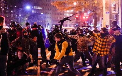 De hier reeds lang voorspelde burgeroorlog in de VS lijkt los te barsten nu SCOTUS verkiezingsfraude zaak afwijst