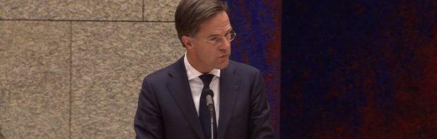 Pijnlijk: Rutte wordt geconfronteerd met leugens over boek The Great Reset van Klaus Schwab