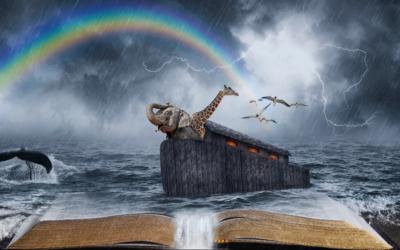 De regenboog het symbool van de NWO, de Ark van Noach en transformatie van de oude (te vernietigen) wereld naar de nieuwe wereld – door Martin Vrijland