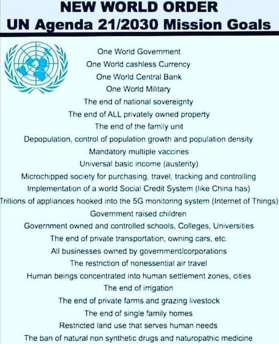 UN Depopulation Agenda